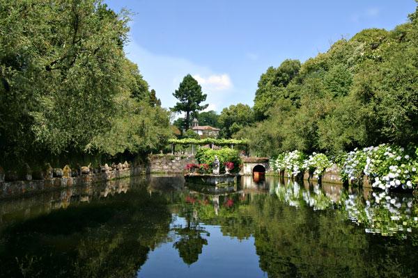 Palacio de oca en apuntes visuales fundaci n casa for Peceras de jardin